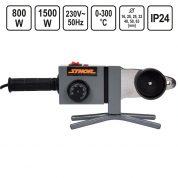 Aparat de sudura tevi polipropilena prin termofuziune 20-63 mm - 800 / 1500 W - 78910-VR