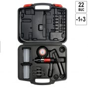 Pompa pentru Vidare cu Accesorii - 22 buc - YT-0674