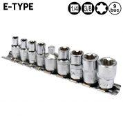 Torx E-Type E5 - E16 - 9 buc - YT-0520