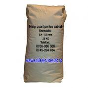 Nisip pentru Sablare in Sac de 25 Kg (Granulatia: 0,4 - 0,8 mm)