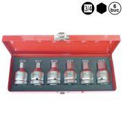 """Hexagon H14 - H23 mm - Tubulara 3/4"""" - 6 buc - 9444-TK"""