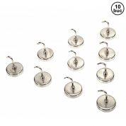 Set carlige metalice 10 bucati - H3955-GB