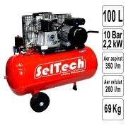 Compresor de Aer 100 L - AB 100/360 - 1121480342-TK