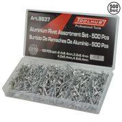 Popnituri aluminiu 500 buc - 9837-TK