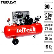 Compresor de Aer 200 L AB 200/515 - trifazic - 1121460503-TK