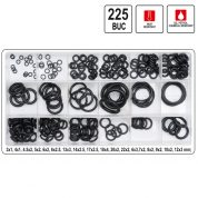 Inele O-ringuri din Cauciuc 3 - 22 mm - 225 buc - YT-06877
