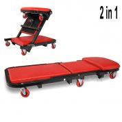 Carucior - Pat mobil pentru atelier auto 2 in 1 - OT4001-MK