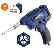Pistol de Lipit 200W + Accesorii - 79353-VR