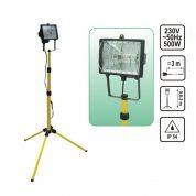 Lampa de Lucru cu Stativ 3 picioare 500W - 220V - 82786-VR
