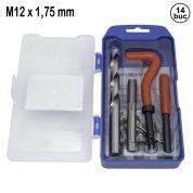 Kit de Reparatie Filet M12 x 1,75 mm - 14 buc - QS14187J
