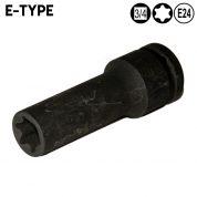 """Tubulara impact E-Torx E24 - 3/4"""" - AT8106A-E24-MK"""