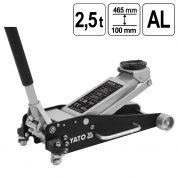 Cric Crocodil 2,5 Tone - 100 - 465 mm - Aluminiu - POMPA DUBLA - YT-17205