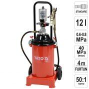 Pompa pneumatica pentru gresare 12 L - YT-07067
