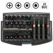 Trusa Biti cu adaptor - 23 bucati - YT-04621