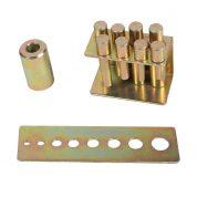 Adaptori presa hidraulica pentru rulmenti si bucse - 9 buc - TL0500PP