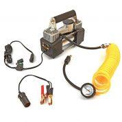 Compresor profesional pentru umflat roti 12V cu accesorii - HM-8305