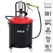 Pompa pneumatica pentru gresare 30 L - YT-07068