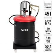 Pompa pneumatica pentru gresare 45 L - YT-07069