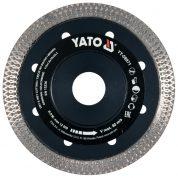 Disc Diamantat Turbo Ultra-Subtire 115 mm - YT-59971