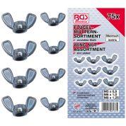 Piulite Fluture M5-M6-M8 - 75 buc - 8133-BGS