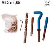 Kit de Reparatie Filet M12 x 1,5 mm - 14 buc - MK6136-MK