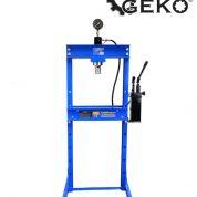Presa hidraulica cu pompa dubla pentru atelier 20 tone Geko G02082-MT